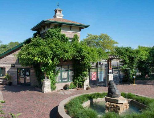 Washington Park Zoo Gate and Administration Building; Michigan City, Indiana